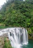 Shifen Waterfall,Taiwan Royalty Free Stock Photos