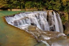 Shifen waterfalls. The picture of Shifen waterfalls Stock Photo