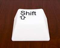 Shift button Royalty Free Stock Photo