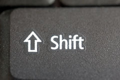 Shift button Royalty Free Stock Image