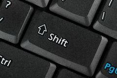 Shift key Royalty Free Stock Photo