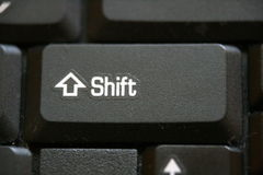 Shift Key Royalty Free Stock Photos