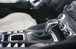 Shift lever Royalty Free Stock Photo