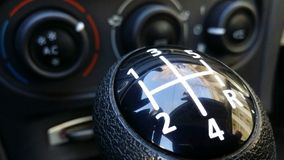 Shift lever. Royalty Free Stock Photography