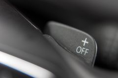 Shift paddles Stock Image