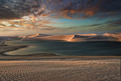 Shifting Sands Royalty Free Stock Photography