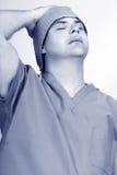 shiftworker zmęczony Fotografia Stock