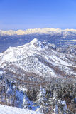 Shiga Kogen in winter Royalty Free Stock Image