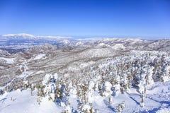 Shiga Kogen in winter Royalty Free Stock Photography