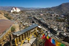 Shigatse fort Royalty Free Stock Image