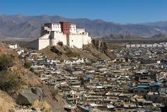 Shigatse fort Stock Image