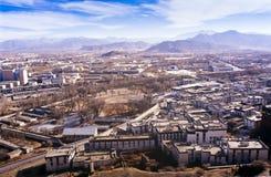 Tibetan City Royalty Free Stock Photography