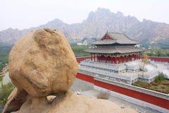 Shigu tempel Fotografering för Bildbyråer