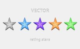 Shiiny Sterne Stockbilder