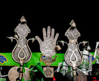 Shiite's het rouwen symbolen Stock Afbeeldingen