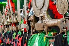 Shiite�s mourning symbols Royalty Free Stock Photo