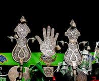 Shiite's sörjande symboler Arkivbilder