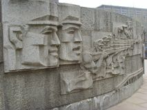 Shijiazhuang, Befreiungs-Monument Stockbild