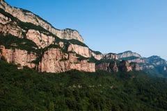 Shijiazhuang, het landschap van Hebei Zanhuang Zhangshiyan Stock Afbeeldingen