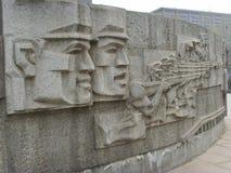 Shijiazhuang, monumento de la liberación imagen de archivo