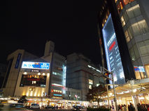 Shijo, Kyoto-night scene. Popular shopping belt in Shijo, Koyto Stock Image