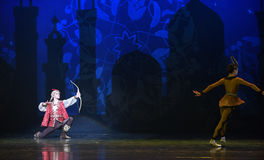 """Shikagari- ballet """"One Thousand and One Nights"""" Royalty Free Stock Photography"""