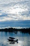 Shikara στη λίμνη DAL Στοκ εικόνες με δικαίωμα ελεύθερης χρήσης