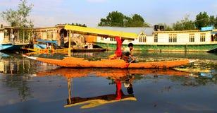 Shikara boat Stock Photo
