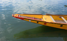 Shikara boat in Dal lake, Srinagar Royalty Free Stock Images