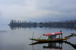 Shikara. At Dal Lake, Srinagar Kashmir Royalty Free Stock Photos