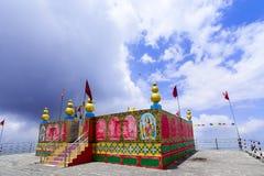 Shikari Mata/άστεγος ναός Devi (η θεά κυνηγών), Himala Στοκ Εικόνες