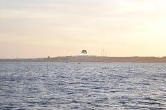 Shikh del al del sharm de Egipto de la puesta del sol Fotografía de archivo