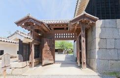 Shikiri Gate (1854) of Matsuyama castle, Japan Stock Images