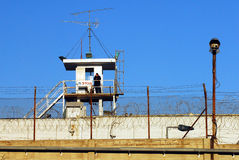 Shikma fängelse - Israel Arkivbild