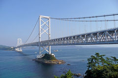 Shikoku bridge Royalty Free Stock Images