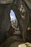 Shilin, forêt en pierre Images libres de droits