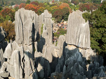 Shilin Stone Forest Stock Photo