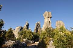 Shilin stone forest near kunming yunnan Stock Photo