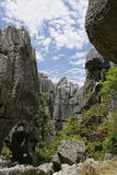Shilin, stone forest Royalty Free Stock Image