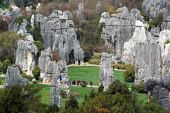 Free Shilin Stone Forest, World-famous Natural Karst Area, China Stock Photos - 81531113
