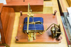 Shilling`s electromagnetic telegraph Stock Photography