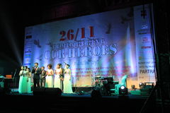 Shillong chamber choir at homage program in Mumbai Stock Images