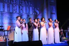 Shillong chamber choir at homage program in Mumbai Stock Image