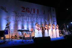Shillong chamber choir at homage program in Mumbai Stock Photo