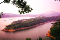 Shillong, paysage d'Umiam, beauté de nature Image libre de droits