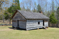 Shiloh Church. A replica of the Shiloh Church at Shiloh National Military Park. The battle in which 23,000 Americans became casualties was named for this church Stock Photo