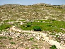 Shiloh, Israele fotografia stock libera da diritti