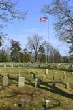 Shiloh National Cemetery Royaltyfri Fotografi
