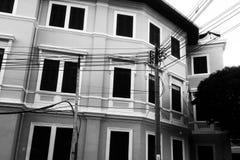 Shiluette bei Thailand Lizenzfreie Stockfotografie