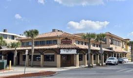 Shim koktajlu Podrabiany Izbowy hol, Jacksonville plaża, Floryda zdjęcia stock